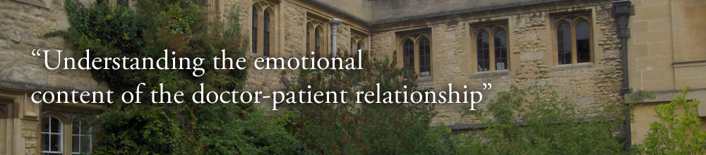 Understanding the emotional content of the doctor-patient relationship